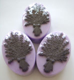 Natural Handmade Lavender Soap for Bathing