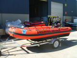 Aqualand 17feet Inflatable Rescue Motor Boat/Military Rubber Boat (AQL-530)