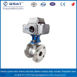 Top Sale Electric Actuator with Brass Ball Valve in Water Treatment Area