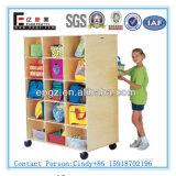 Bookcase for Daycare Children Furniture /Laminate Bookcase Designs/Sale Cheap Kids Bookcase