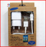EU 2in1 Mobile USB Charge for Samsung Glaxy S4