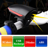 LED USB Rechargeable Headlight Head Light Flash Bicycle