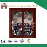 Accordion Aluminum Door, 2 panel Sliding Doors, Aluminum Patio Door