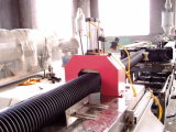 CE Certificate Sj-65 Automatic HDPE Single-Wall Corrugated Pipe Machine
