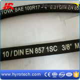 Flexible Rubber Hose/High Pressure Hose/Hydraulic Hose DIN 857 En 1sc
