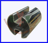 SS Round Slotted Tube (180degree)