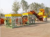 Fully Automatic Hydraulic Concrete Blocks & Pavers Machinery (QT6-15)