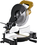 Electric Miter Saw Cutting Aluminum 1650W 255mm