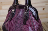 Leather Handbag (T081107)