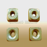 Heavy Duty Coil Nut with Yellow Color