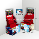 Kid′s Store Cardboard Pop up Display Stand for Toy Cars Sale