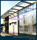 Clear PVC Strip Curtain with Magnetic Srip Can Keep Close Each Other