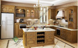 Solid Wood Kitchen Cabinets (zs-281)