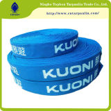 25mm Flat Blue Nylon Webbing for Dog Leashes and Collars