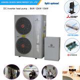 Serbia Cold Winter -20c Floor Heating 120sq Meter House+55c Hot Water 12kw/19kw Monobloc Evi Air Water Pump Inverter Heater