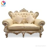 European Royal Luxury Hotel Hall Wedding Bride and Groom Sofa