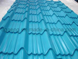 Low Price Corrugated/Trapezoidal/Glazed Colorful PPGI/PPGL Steel Roofing Plate