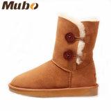 Double Face Australia Merino Merino Sheepskin Women Fashion Boots
