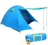 Waterproof Double Layer 2 3 4 Person 3 Season Backpacking Tent