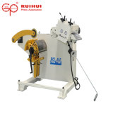 China Supplier 0.3-3.2mm Material Uncoiler with Straightener Machine (RGL-400)