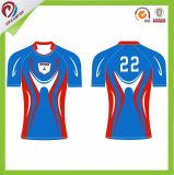 Top Sell Sublimation Design Custom Mens Rugby Jersey for Adult