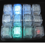 Promotional LED Flashing Party Ice Cube with Logo Print (3188)