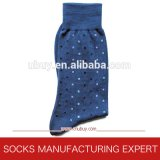 Men′s Cotton Dotted Patterned Socks