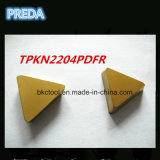 China Professional Caride Inserts for Steel Tpkn2204pdfr