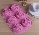 Hot Sale Rose Silicone Cake Mold