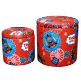 Round Chair and Storage Box for Children (SXBB-122)