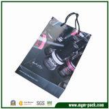 Wholesale Custom Promotional Black Paper Gift Handbag
