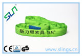 2017 Endless Green 2t*8m Round Sling with Ce/GS