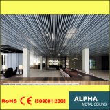Aluminum Metal Suspended Mixed Color Baffle Ceiling