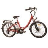 180W-250W Aluminum Frame City E-Bike with Shimano 7-Speed (TDE-001A)