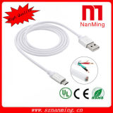 Lighter Shape Sync Data Retractable Micro USB Charging Cable