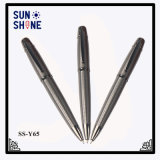Office Stationery Items Metal Pen Gun Grey Twist Ball Pen