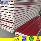 China roof PU PVC Heat resistant sandwich panel