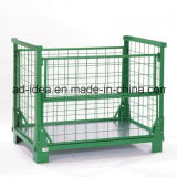 Steel Bulk Container/Mesh Cage/Mesh Box/Mesh Basket/Foldable Steel Mesh Container/Exhibition Stand