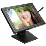 "Stable Stand VGA USB Inputs POS Use 15"" / 15 Inch Resistive LCD Touch Screen Monitor"