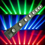 8PCS 10W RGBW 4 in 1 LED Moving Head Bar Light