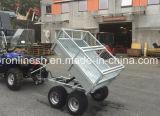 2 or Two Axle1500kgs/2-Ton ATV/Quad/UTV/Small Tractor Towable/Tow Behind Trailer/Multiple/Multipurpose Trailer/Box Trailer/Cargo Trailer W Divide Frame CE