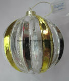 Factory Supply Christmas Glass Ball with Different Shapes