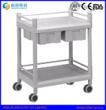 Hospital Furniture Medical Use Multi-Purpose ABS Hospital Trolley
