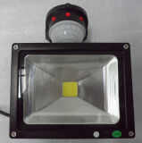 IP65 Outdoor PIR Sensor LED Flood Light 50W