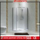 Single Sliding Glass Door Sector Shower Cabin