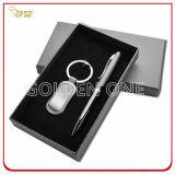 Promotion Pen & Metal Key Chain Gift Set