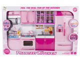 Electric Toy Pretend Play Toy Set Kitchen Set for Girls (H9632129)