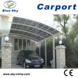 Durable Car Parking Polycarbonate and Aluminum Carport