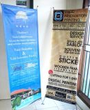60*160cm/80*180cm Outdoor X Type Stand Banner for Promotion