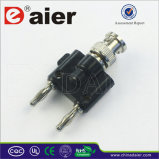 Daier Double Banana Plug and Audio Cable (CX-2041)